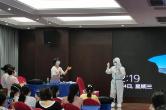 婁底市中心醫院醫療隊凌晨kang)執鍔V蠶支援核酸檢(jian)測
