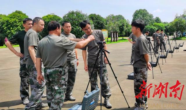 长沙市人防办组织开展市带区县(市)人防机动车通信训练
