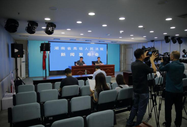 湖南高院召开未成年人权益司法保护新闻发布会
