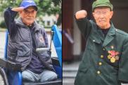 泪目!抗美援朝老兵时隔58年见面,互碰断臂问候