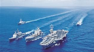 美放言在印太新建作战舰队