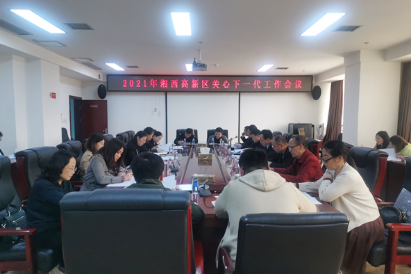 湘西高新区关心下一代工作会议召开
