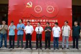 鹤城区庆祝中国共产党成立100周年美术书法摄影作品展开幕