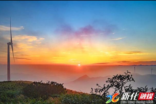 新化县摄影协会大熊山采风,助推新化文化旅游