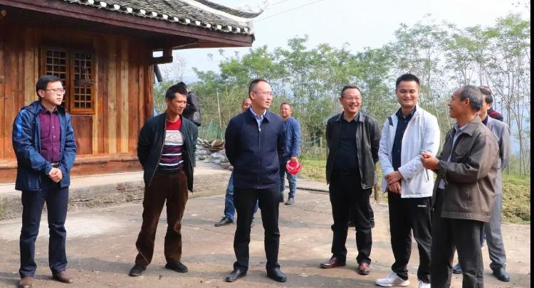 """朱法栋调研脱贫攻坚、""""十四五""""规划和传统村落保护工作"""