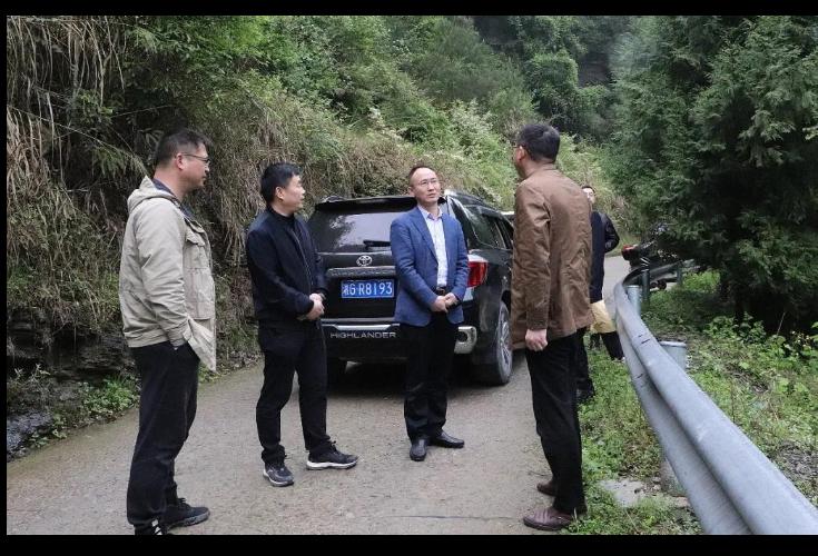 朱法栋深入教字垭镇调研为民办实事供水工程建设