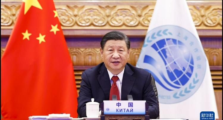 """習近平出席上海合作組織成員國元首理事會第二十一次會議并發表重要講話 強調上海合作組織應該高舉""""上海精神""""旗幟 構建更加緊密的上海合作組織命運共同體"""