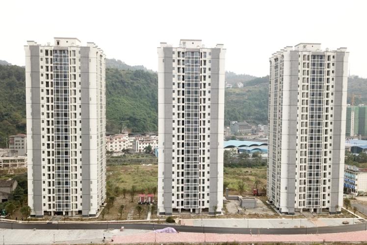 吉首市小庄、五里牌公租房二期项目具备入住条件