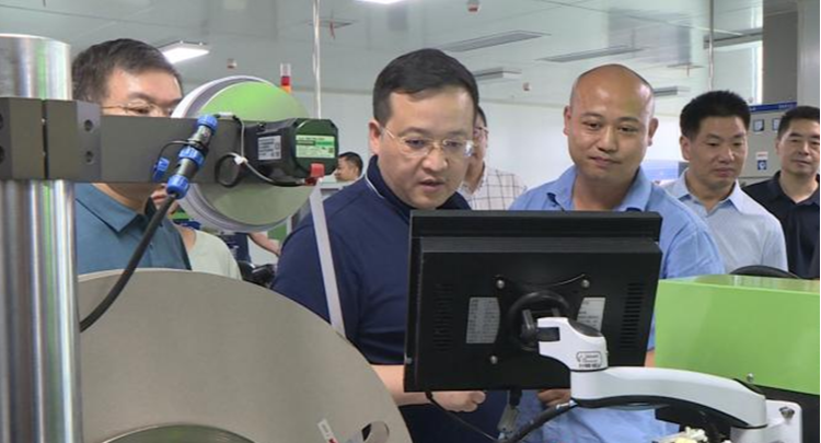郭勇:优化营商环境  做大做强企业  推动湘乡高质量发展