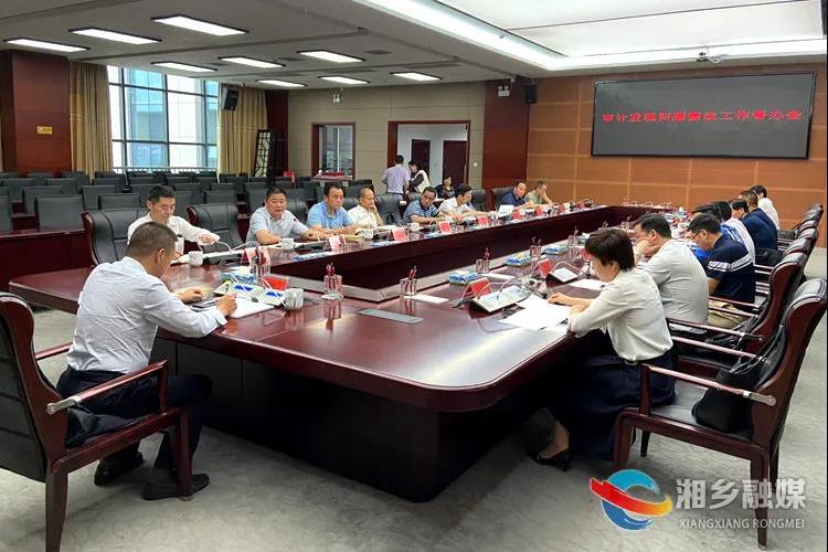 周俊文:提高政治站位 确保审计发现问题整改到位