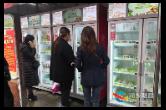 """无人售货、自动称重… 湘乡首家""""无人菜市""""开启买菜新模式"""