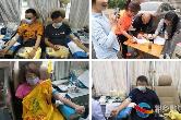 """""""哪里有需要,哪里就有我们!""""湘乡各部门积极开展无偿献血活动"""