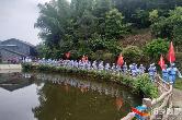 """别样""""六一""""   湘乡40名中小学生重走红军路 追寻红色记忆"""