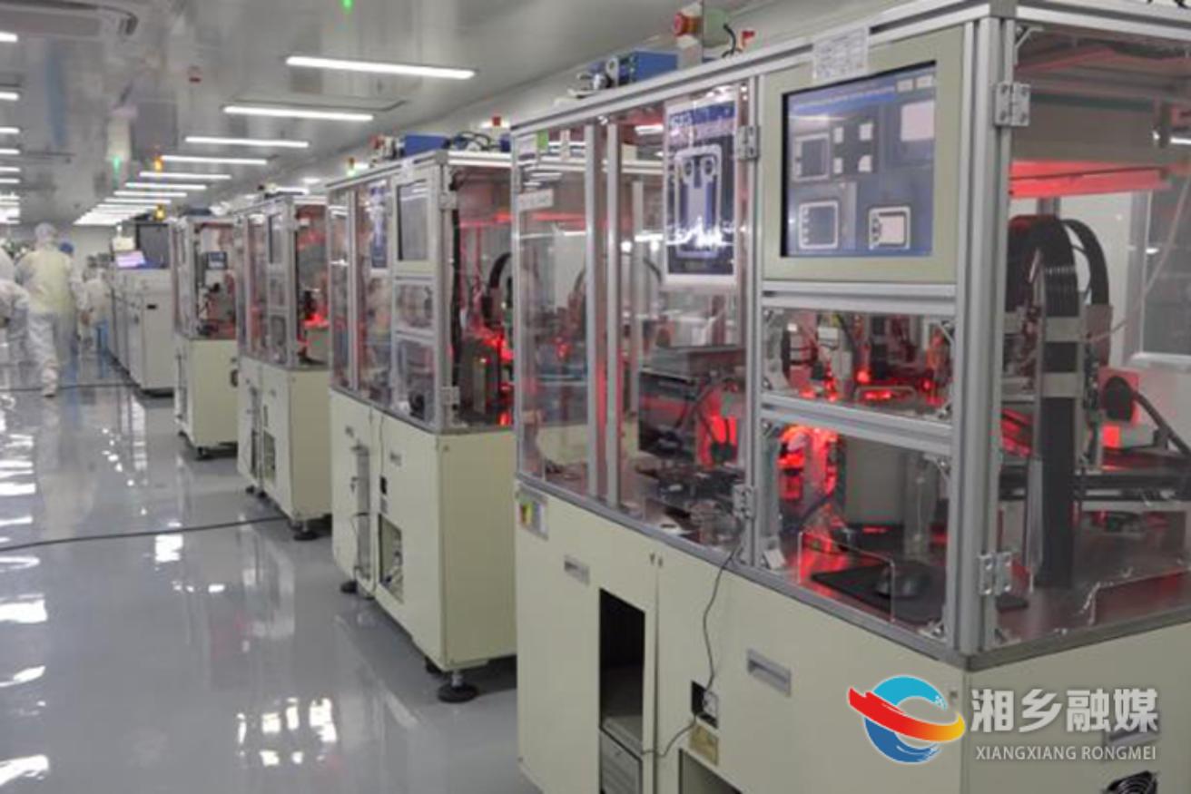 新天源电子有限公司正式投产 预计年产值2亿元