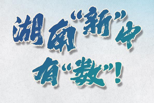 """数说牢记嘱托丨""""三高四新""""战略实施得如何?湖南""""新""""中有""""数""""!"""