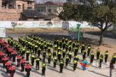 [潭市镇]爱心企业为新铺学校捐赠校服