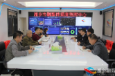洞口县考察组来湘乡考察交流融媒体中心建设