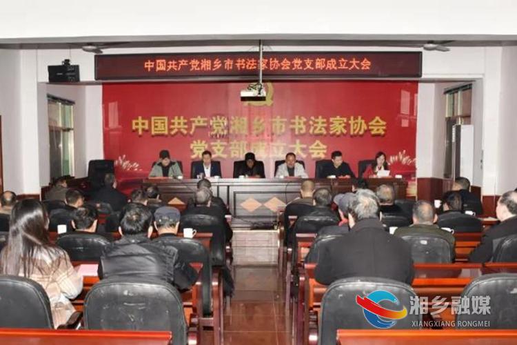 亚洲城娱乐手机登录入口书法家协会成立党支部 周志强当选为党支部书记