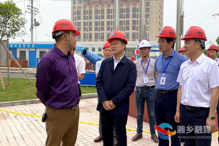 周俊文:加快推进项目建设 确保早日建成投产