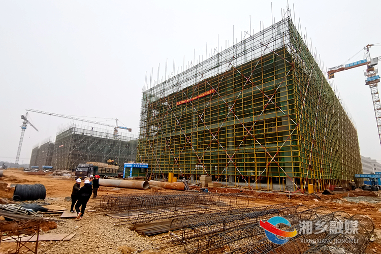 """【辉煌""""十三五""""】湘乡经开区:项目建设硕果摇枝   经济发展提档加速"""
