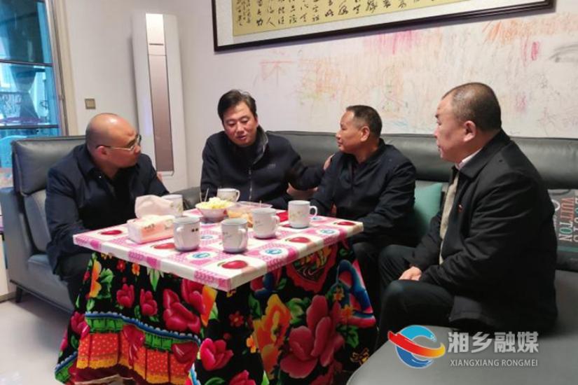 """陈晖来湘乡看望慰问全省""""最美退役军人""""和伤残军人"""