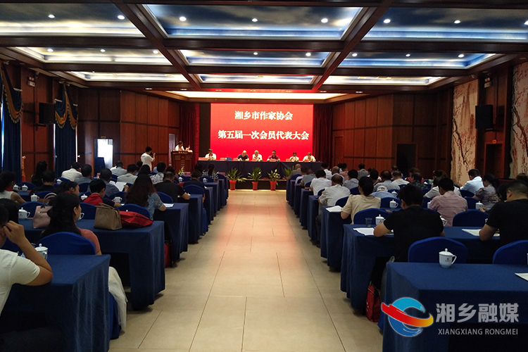 湘乡市作家协会换届 陈子赤当选新一届作协主席