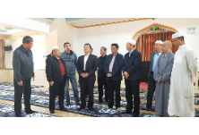 全国政协民宗委一行调研天心区宗教活动场所清真寺