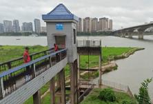 加强水源保护区巡查值守, 保护湘江水环境
