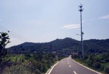 长沙市公路建养中心现场督查天心区农村公路养护工作