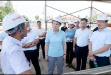 刘汇调研暮云片区基础设施及项目建设