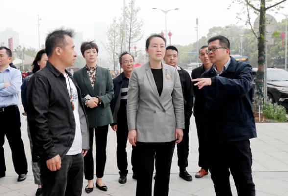 全力推进湘江大道品相、品质、品位再提升