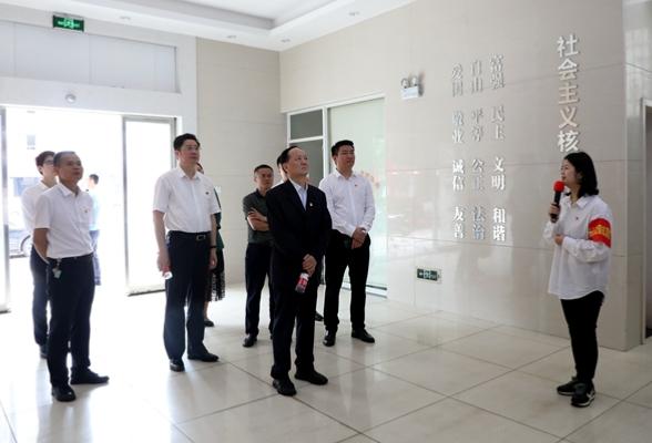 省委党史学习教育第九巡回指导组到长沙市天心区开展督导检查