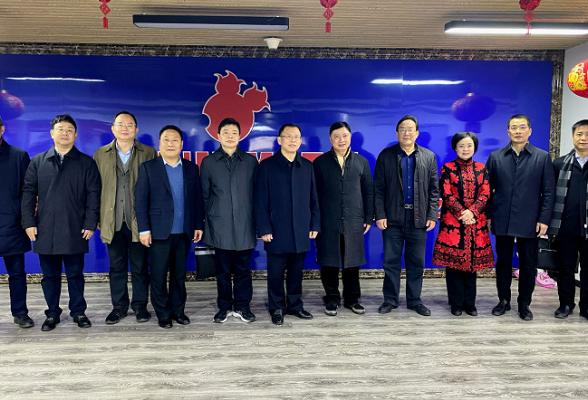 陈献春带队调研长沙天心文化(广告)产业园