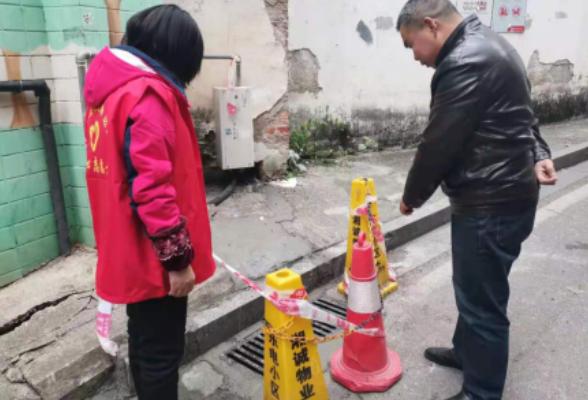 """社区巡查突遇""""险情"""" 网格助力危机解"""