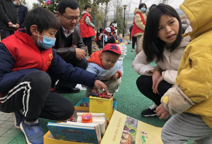 """欣南社区寒假微型""""淘宝""""市场上线"""