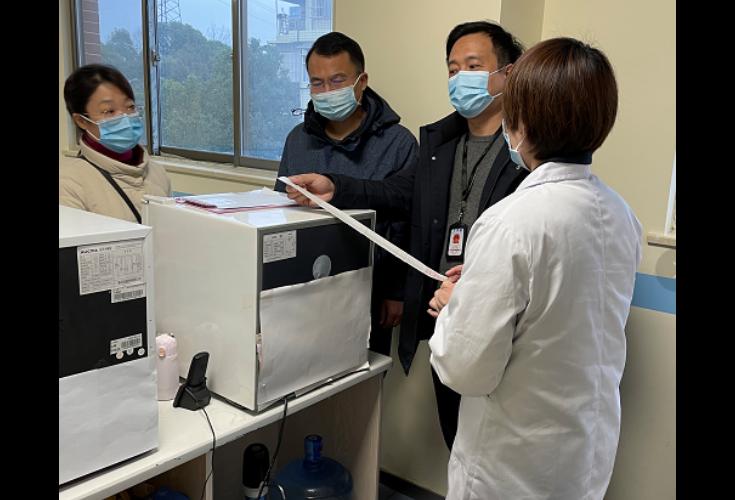 天心区市场监督管理局开展新冠病毒疫苗接种单位专项检查