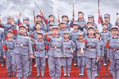 """宁乡市""""红船引领红领巾·童心向党颂百年"""""""