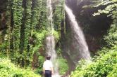 沩山十景诗语之一:芦花瀑布,大自然的凉亭