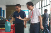 刘辉调研宁乡经开区科技工业学校