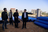 秦正云督导县城乡污水处理一体化ppp项目建设