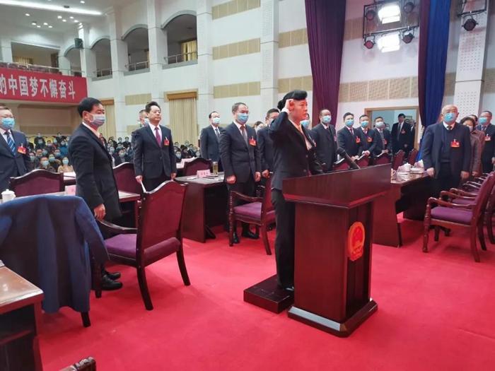 王令波當選為張家界市監察委員會主任