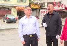 王永红到梨子园社区督导迎省级卫生县城复查工作