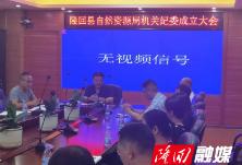 隆回县自然资源局选举产生第一届机关纪委