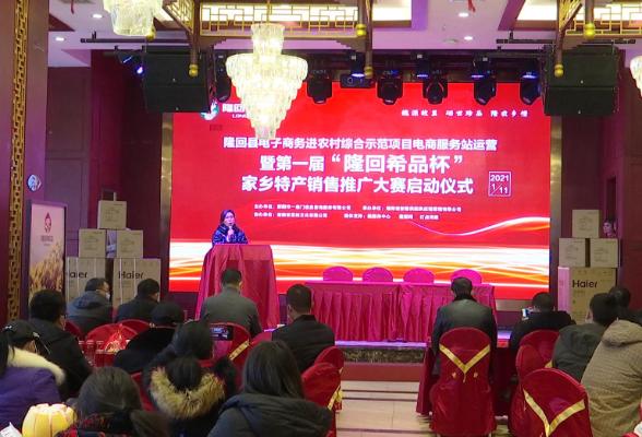 隆回县电子商务进农村综合示范项目启动