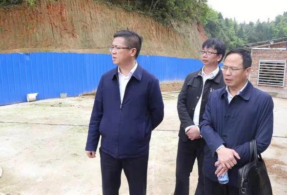 杨韶辉到七江、六都寨、三阁司等乡镇调研督查重点工作