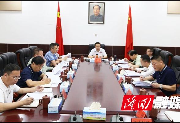 刘军主持召开2021年第14次县委常委会会议