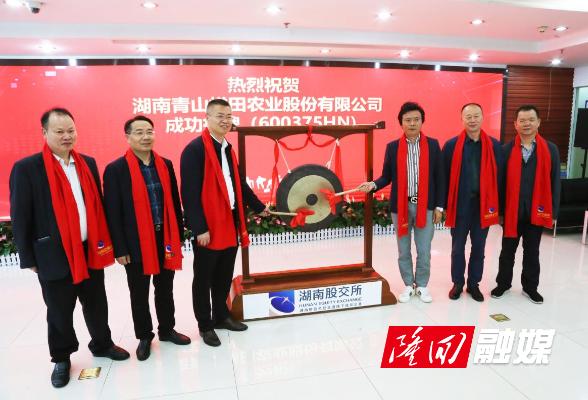 隆回县15家企业在湖南股交所集体挂牌