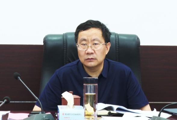 刘军主持召开县委新冠肺炎疫情防控领导小组2021年第12次会议