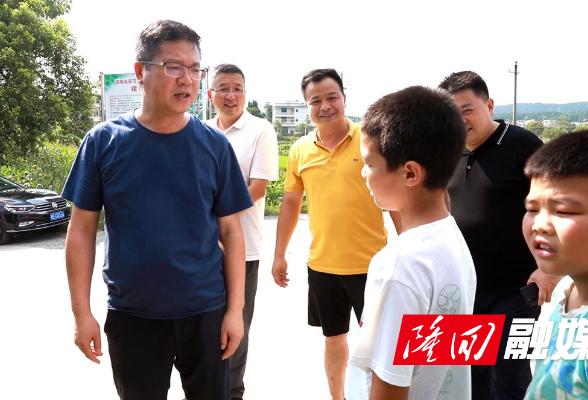 杨韶辉到乡镇督查指导防范学生溺水工作