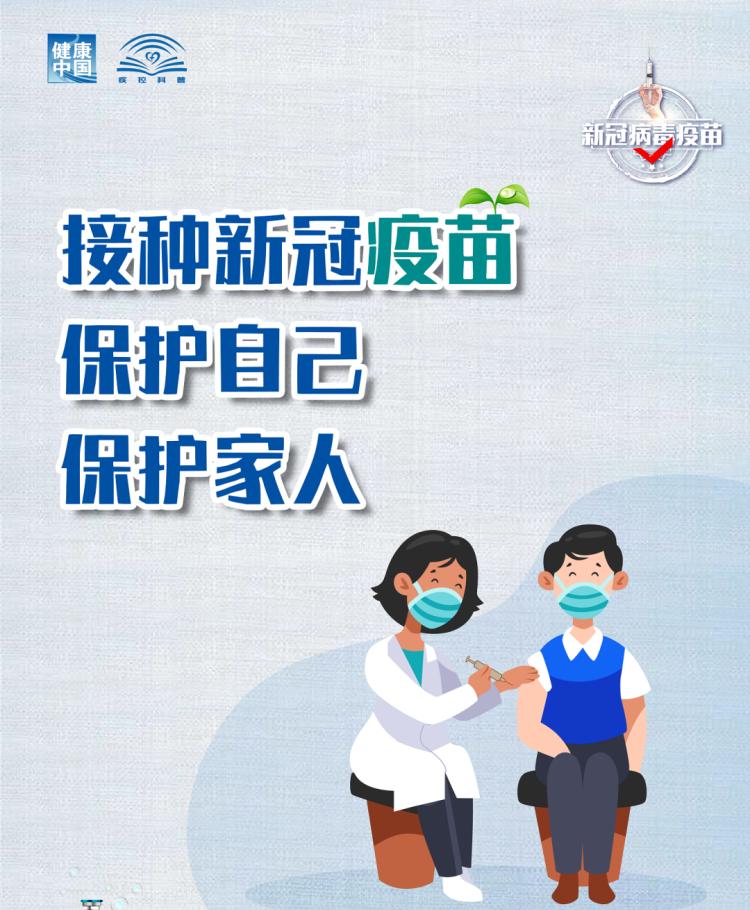 海报 | 接种疫苗是预防新冠肺炎的最好办法